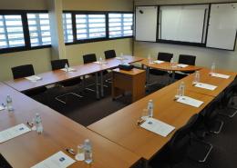 Centre d'affaires Bordeaux Aéroport : salle de réunion