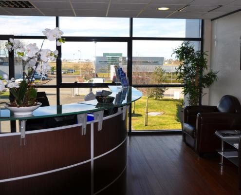 Centre d'affaires Bordeaux Aéroport : Accueil