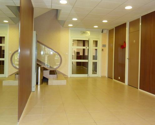 Centre d'affaires Bordeaux Lac : entrée