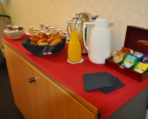 Centre d'affaires Bordeaux Lac : petit déjeuner