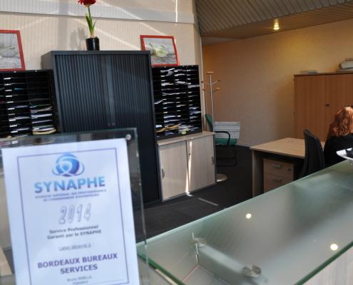 Centre d'affaires Bordeaux Mérignac : accueil