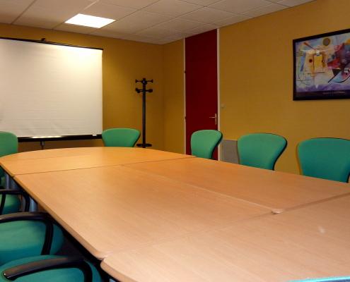 Centre d'affaires Bordeaux Mérignac : salle de réunion