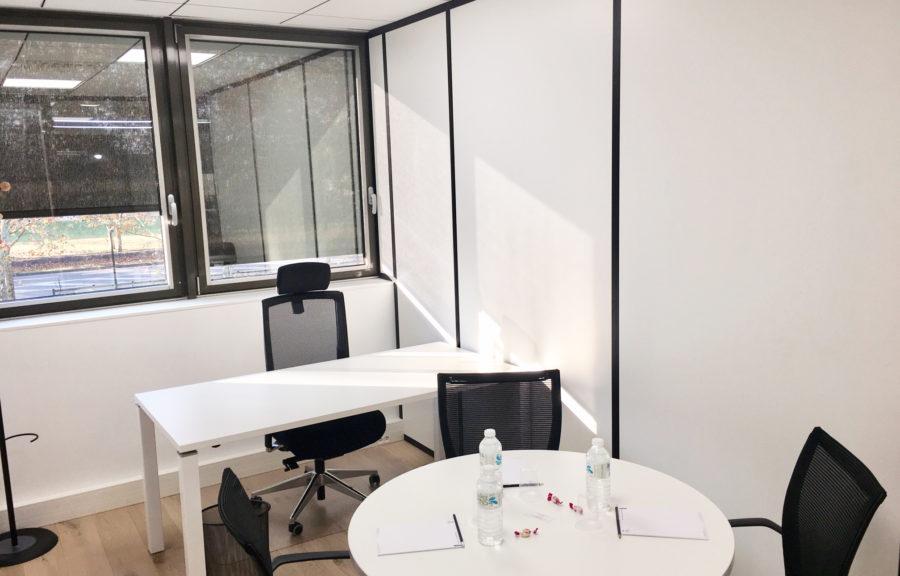 Bureau 4 postes Bordeaux LAc