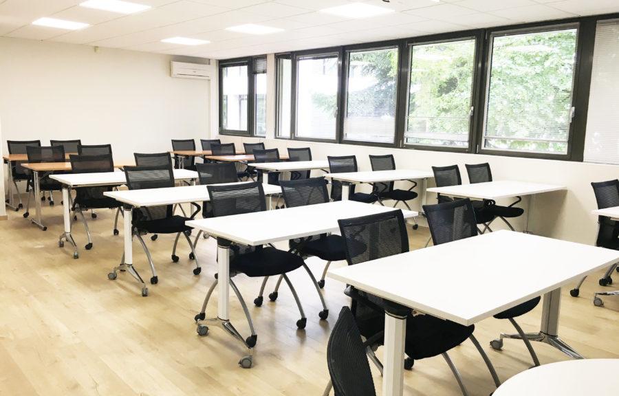 Salle d'examen ou de formation 30 places Salle de réunion Théâtre Bordeaux Lac